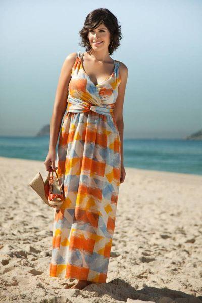 Vestidos para boda en playa para gorditas