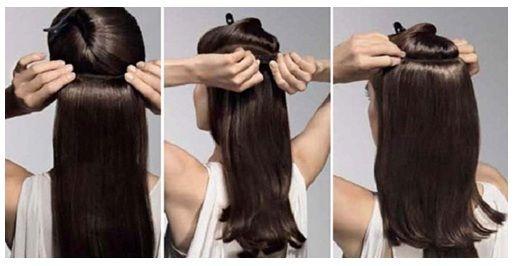 Videos de peinados con extensiones de clip