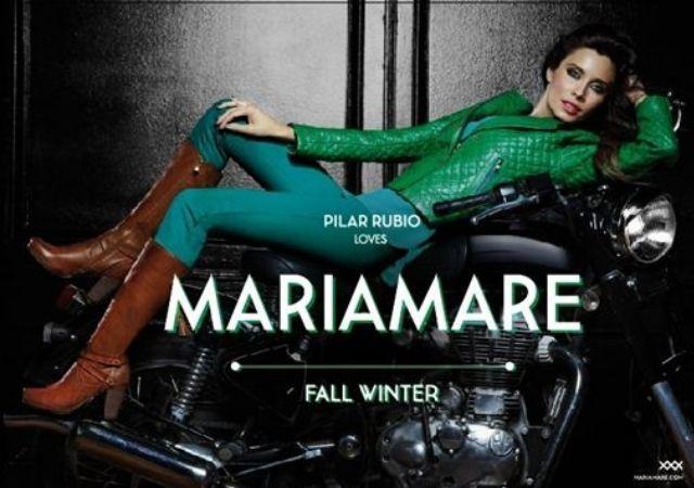 Una Sensual Pilar Rubio presenta la Colección de Calzado MariaMare