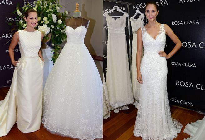 Alba Carrillo y Gabriela Lenzi se visten de novias