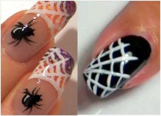 manicura para halloween