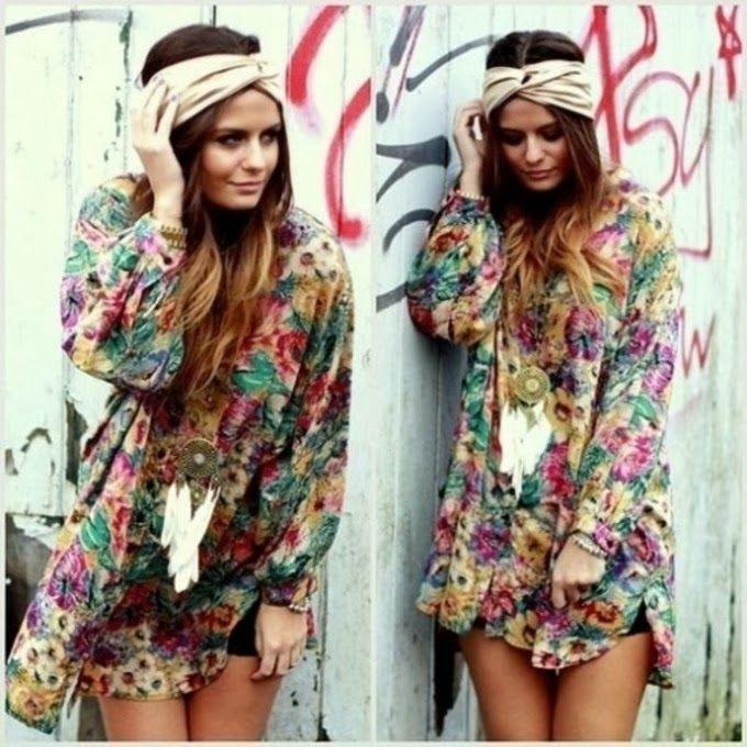 j902or-l-c680x680-hat-floral-dress-tank-top-clothes-tunic-hippie-chic-vintage-soul-beauty-flower-power-flowy