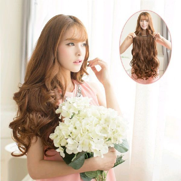 Free-Shipping-New-29-Women-Ladies-Long-Curly-Wavy-6-Clips-In-On-Hair-Extensions-Full