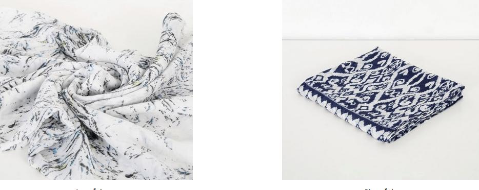 Colección de pañuelos Misako