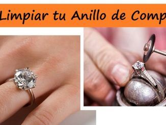 ¿Cómo limpiar tu anillo de compromiso?