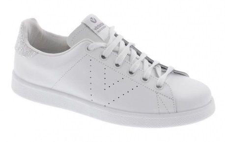 Calzado deportivo para mujer en color blanco
