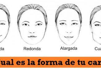 ¿Cual es la forma de tu cara?