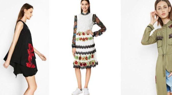 Catálogo de vestidos Desigual