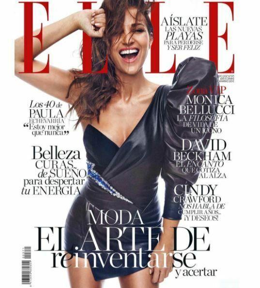 Paula Echevarría, portada de Elle, cumple 40