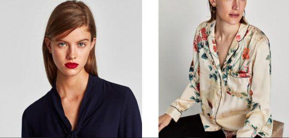 Diseños de camisas Zara