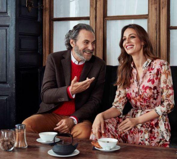 Eva González y José Coronado embajadores de Cortefiel