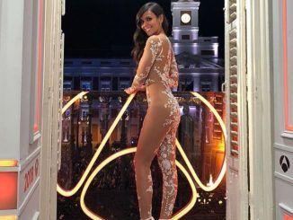 Vestido de Cristina Pedroche en las Campanadas de 2017