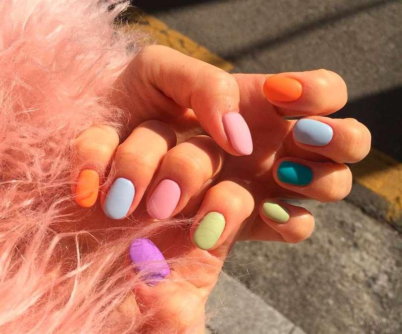 Color para pintarnos las uñas